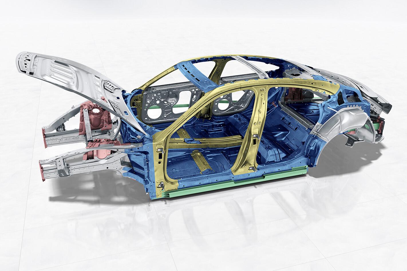 Porsche Taycan Technical Details Chassis Jpg