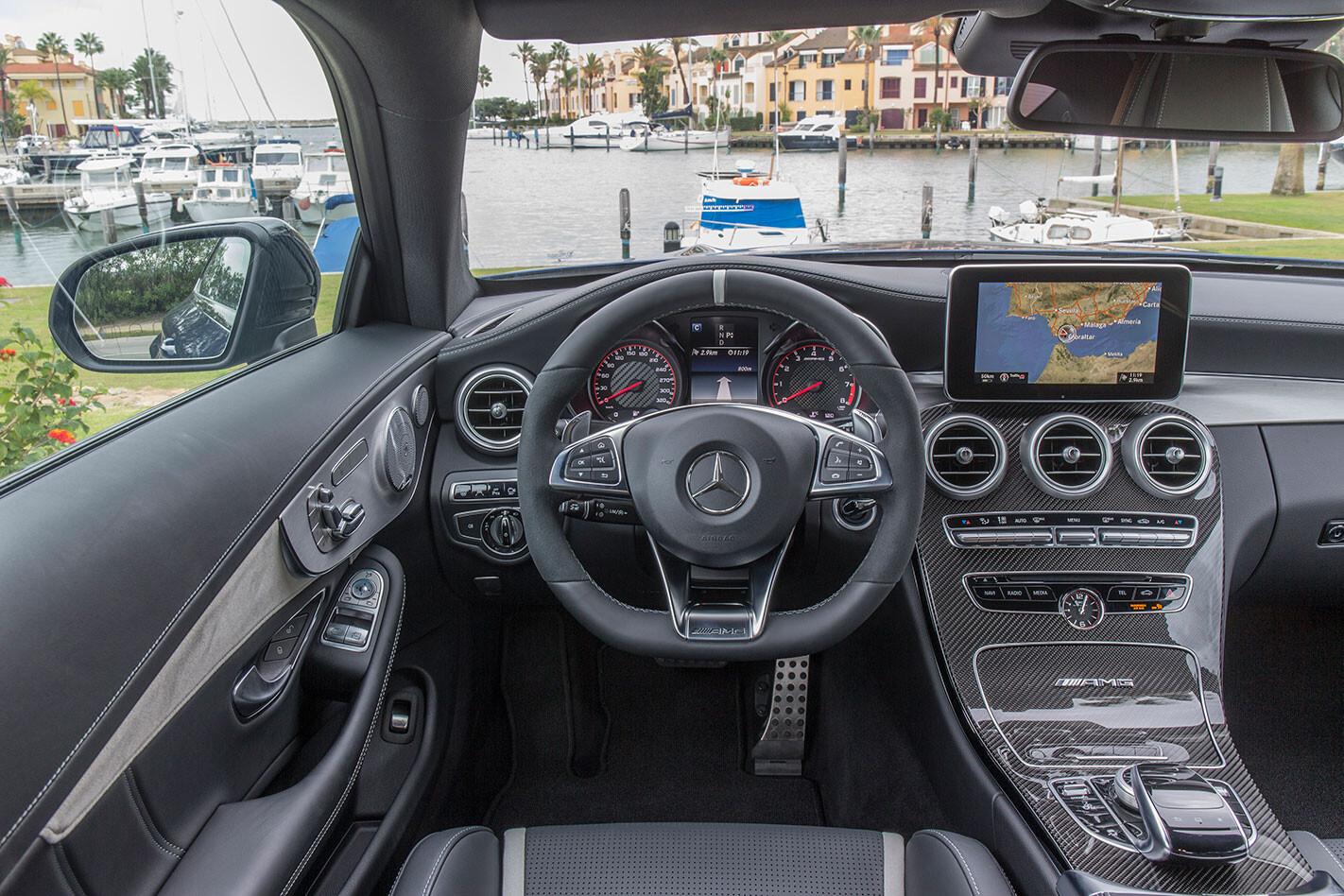Mercedes -AMG-C63-S-Coupe -interior