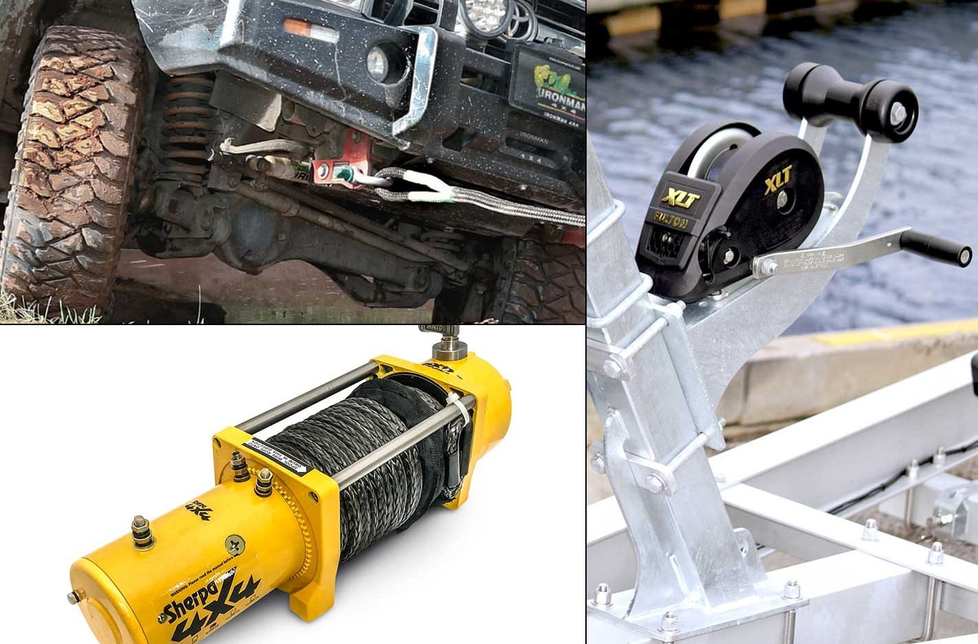 4x4 winches and recovery gear new 4x4 products