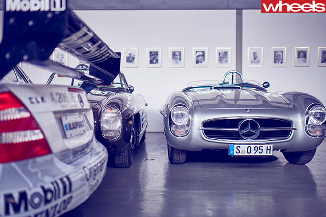 Mercedes -Benz -Classic -Centre -Holly -Halls -sports -bunker