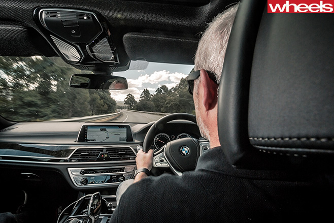 Stephen -Corby -driving -BMW-7-Series
