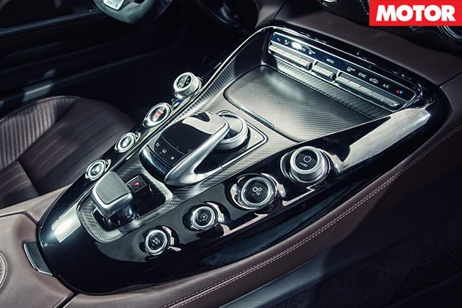 AMG GT S controls