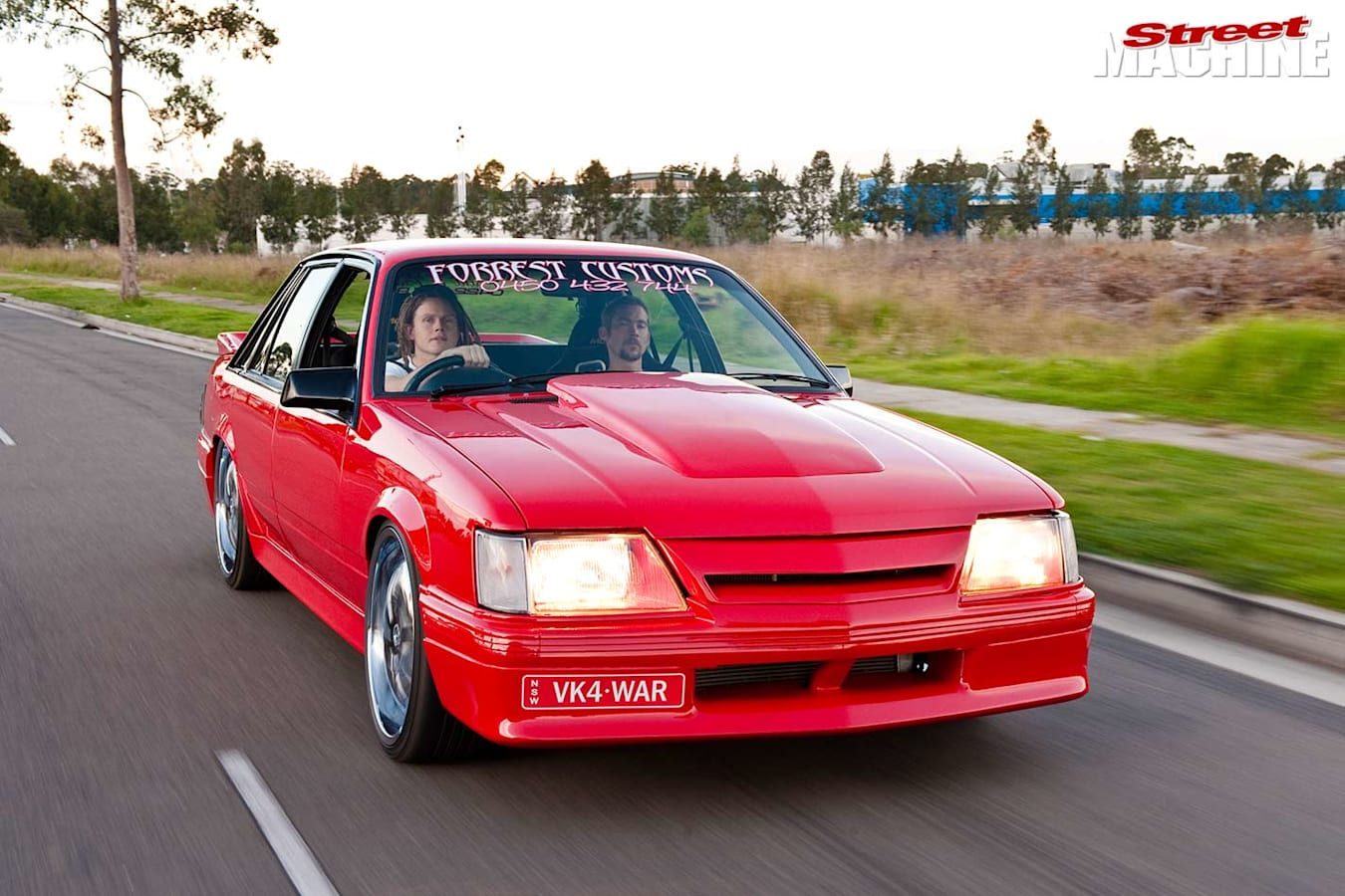 Holden VK Commodore onroad