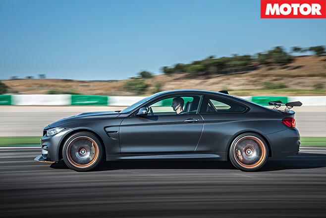 BMW M4 GTS side