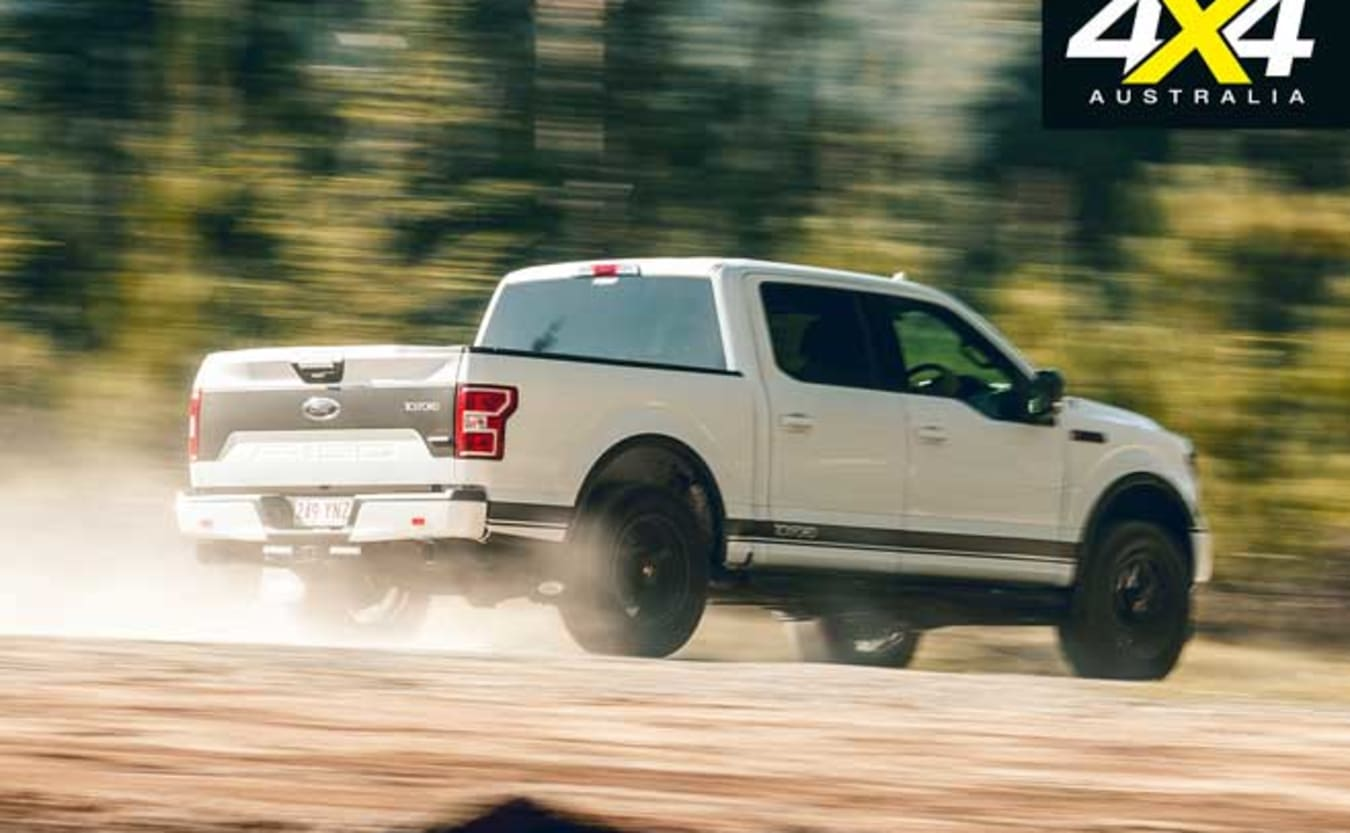 2019 Tickford Ford F-150 ride and handling review
