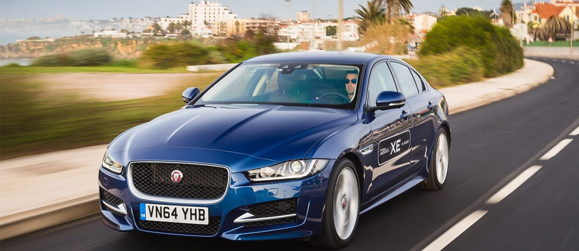 Jaguar XE review test drive