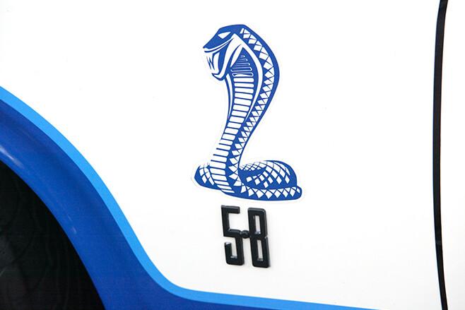 Cobra badge
