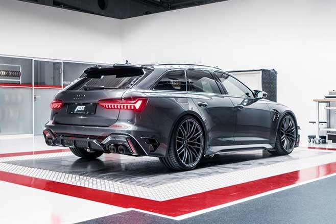 2020 ABT RS 6 R Rear Jpg