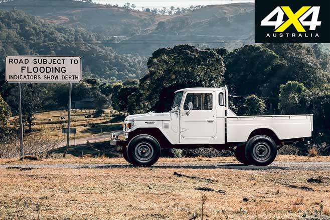 Restored Custom 1984 Toyota Land Cruiser FJ 45 Side Jpg