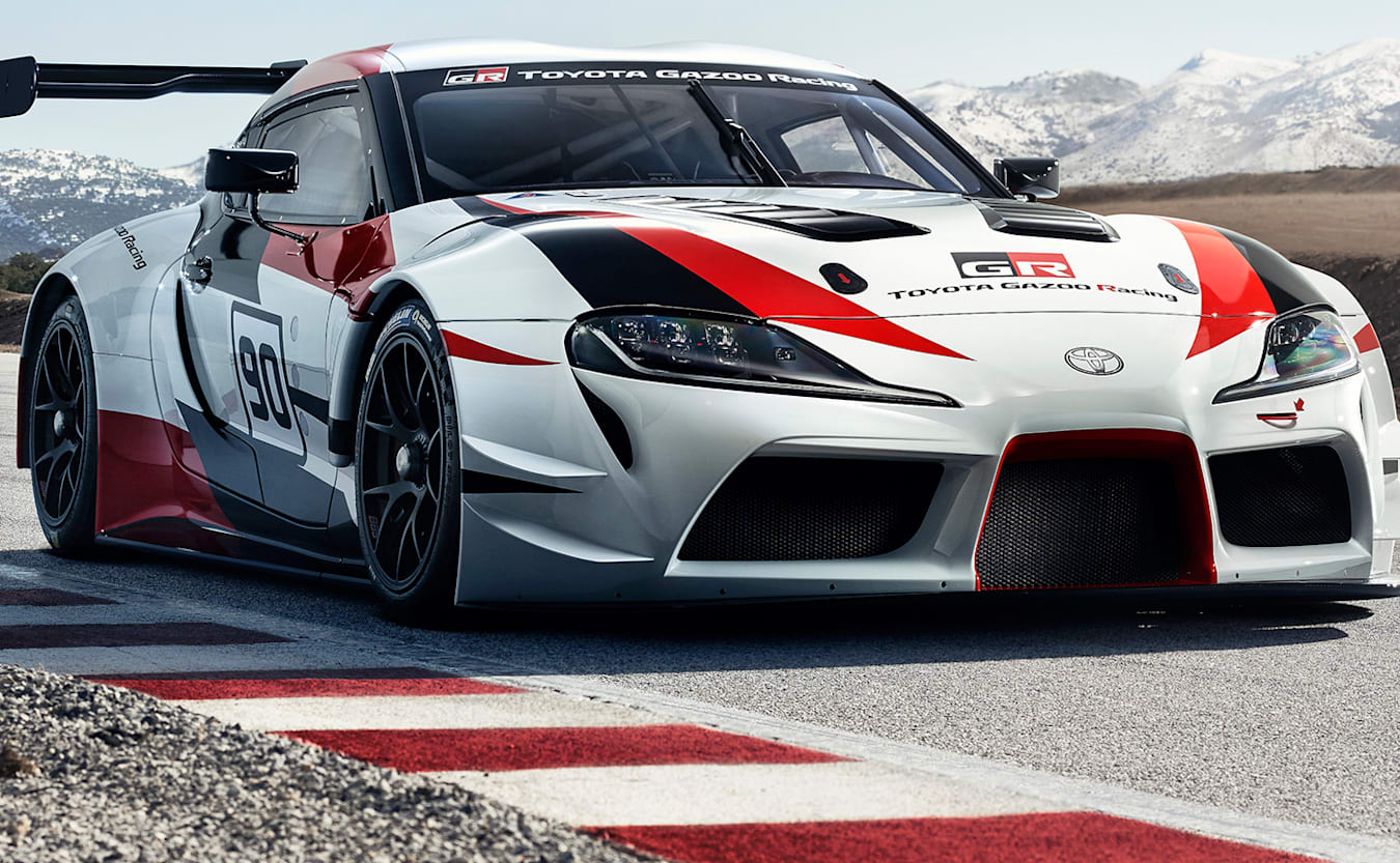 2018 Geneva Motor Show Toyota GR Supra Racing Concept previews next-gen hero coupe