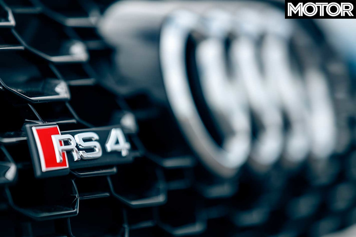 Performance Car Of The Year 2019 6th Place Audi RS 4 Avant Front Grille Badge Jpg