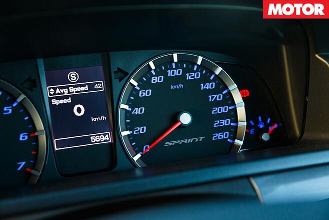 Ford Falcon XR Sprint gage