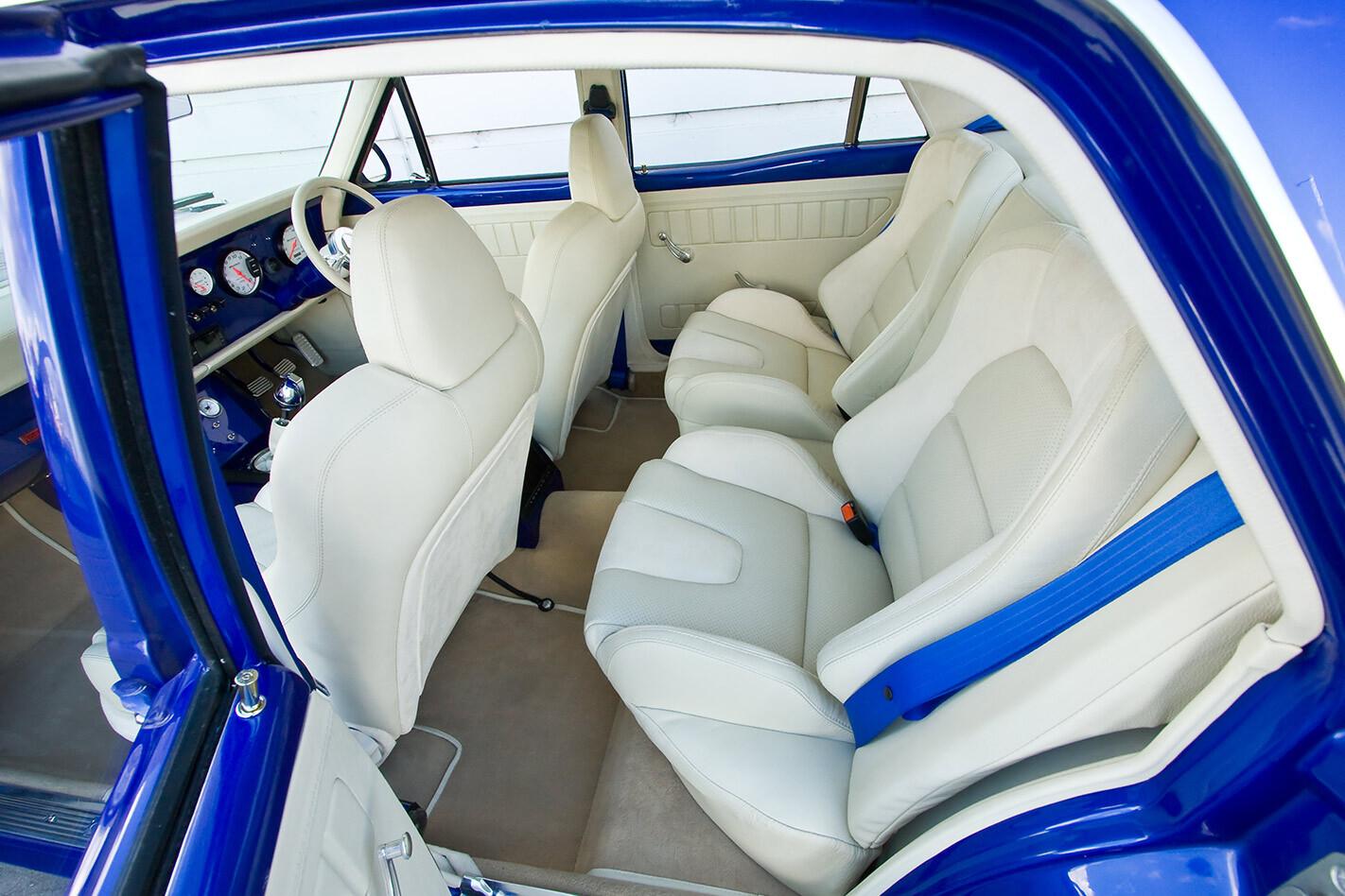 Ford XY Falcon interior rear
