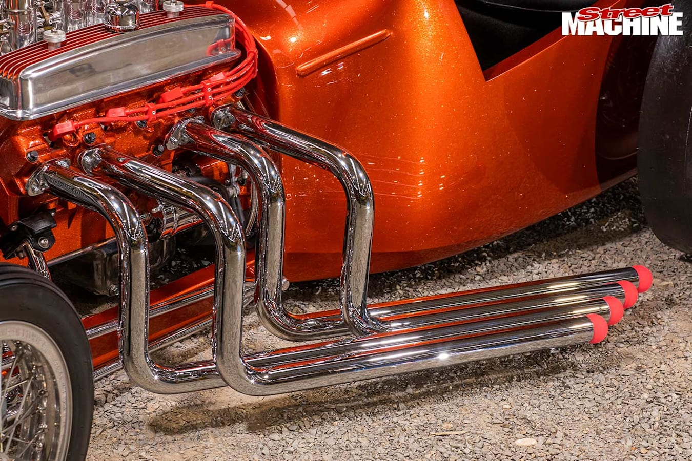 Ford Model T exhaust