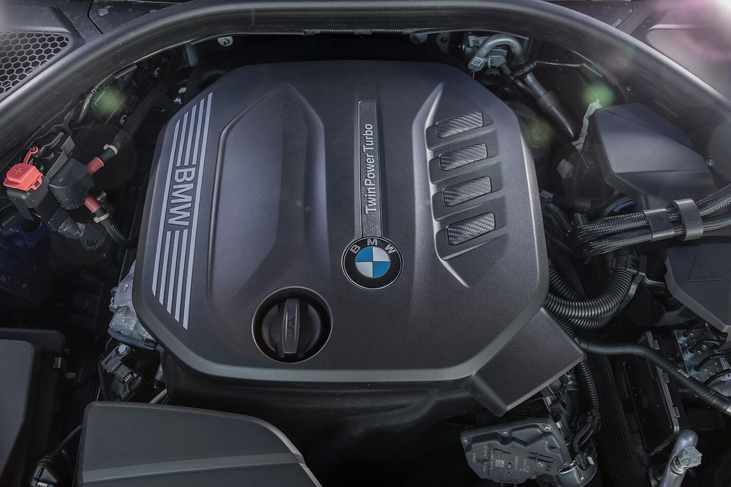 BMW 320d engine