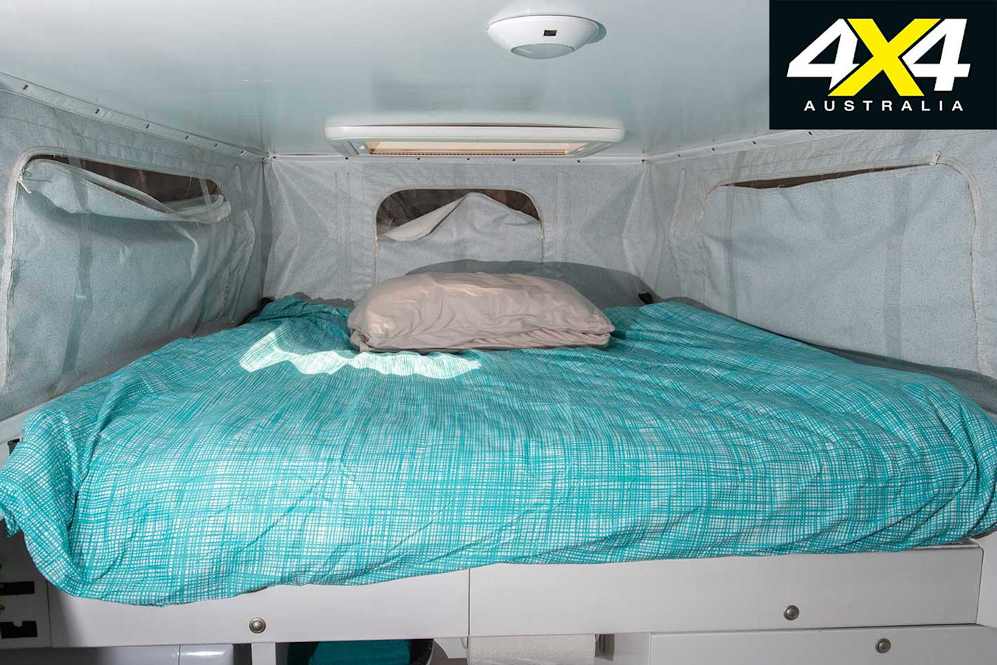 Custom Land Rover FC 101 Bed Jpg