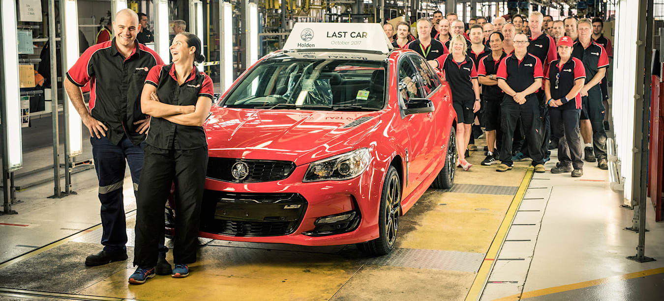 Commodore and Caprice, wagon and ute: these are the last four vehicles to be built by Holden in Australia