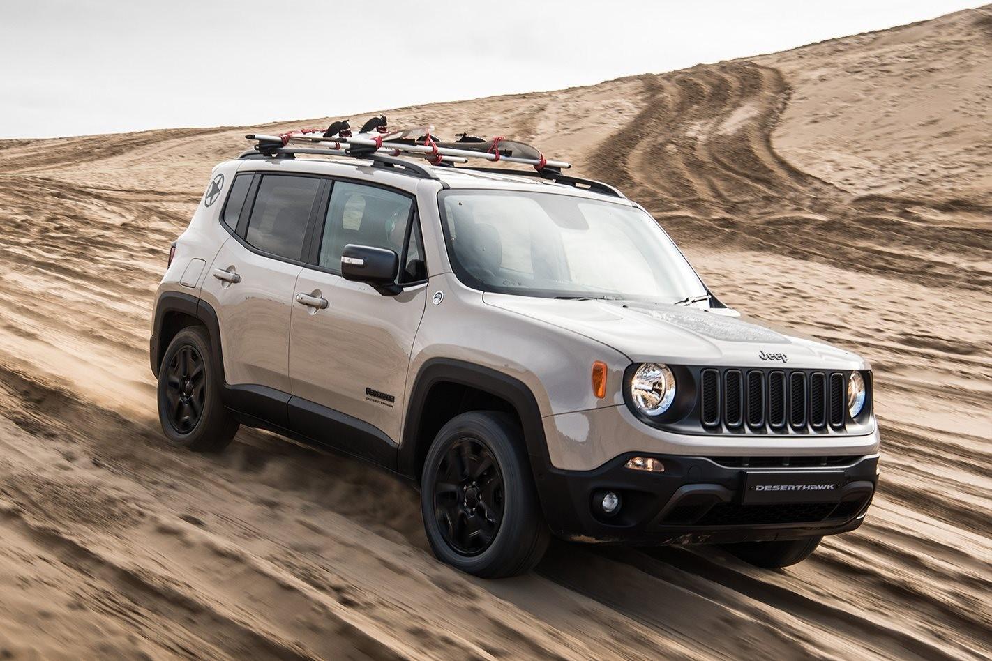 2017 Jeep Renegade Desert Hawk, Limited Edition
