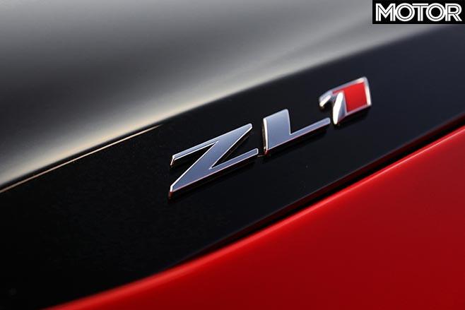 Chevrolet Camaro ZL1 badge