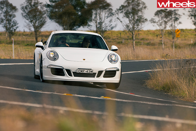 -Porsche -911-Carrera -S-driving
