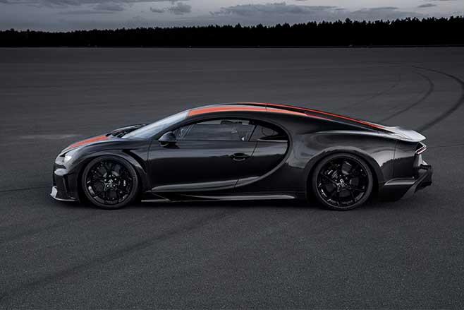 Bugatti Chiron Super Sport world record top speed of 300mph.