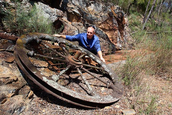 Mole River NSW mine site