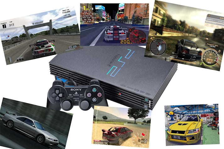 best driving games of Playstation 2