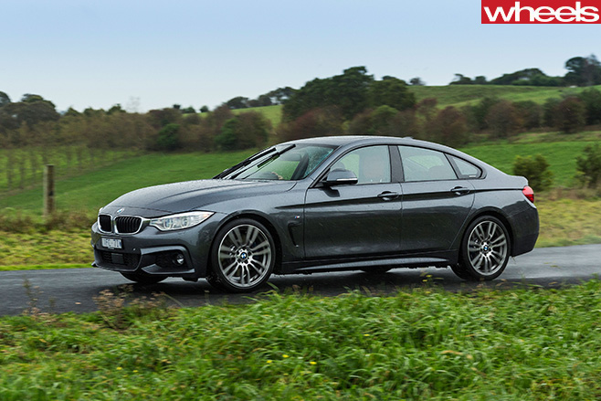 BMW-4-series -front -driving -side