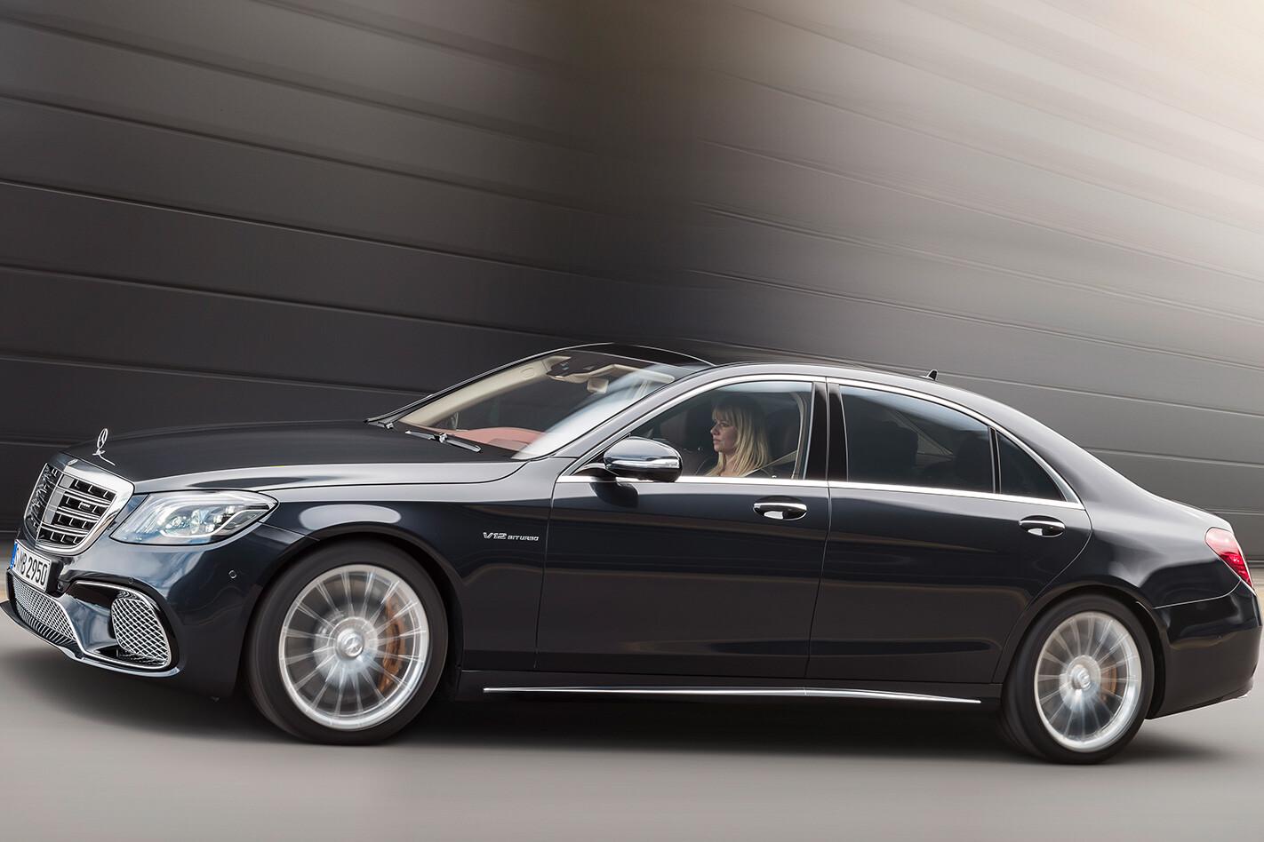 2018 Mercedes-Benz S-Class side profile