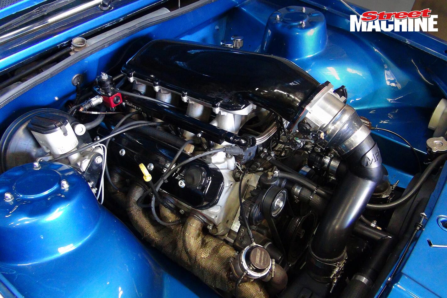 VH Commodore Engine Twin Turbo LS