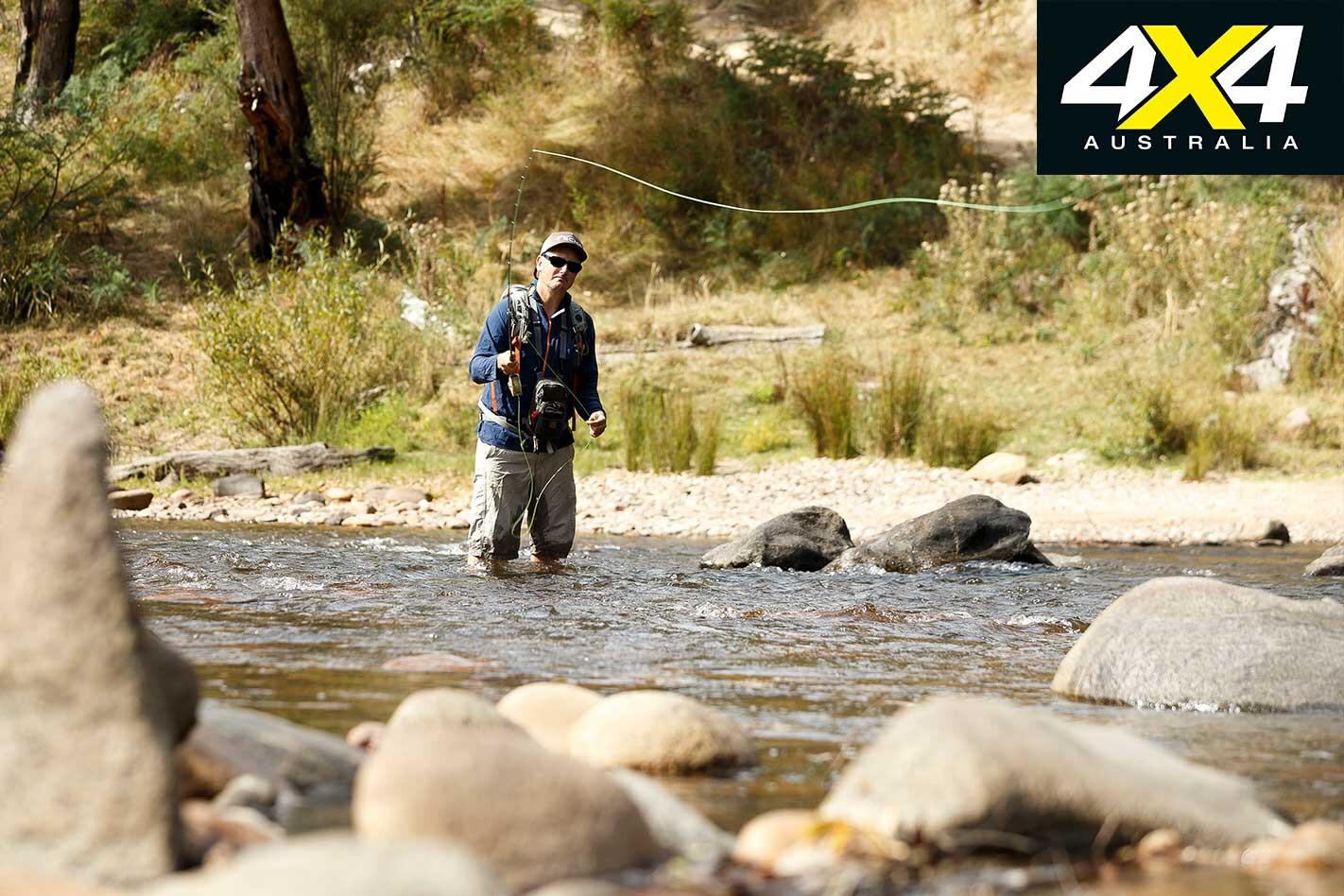 Victorian High Country 4 X 4 Adventure Series River Fishing Jpg