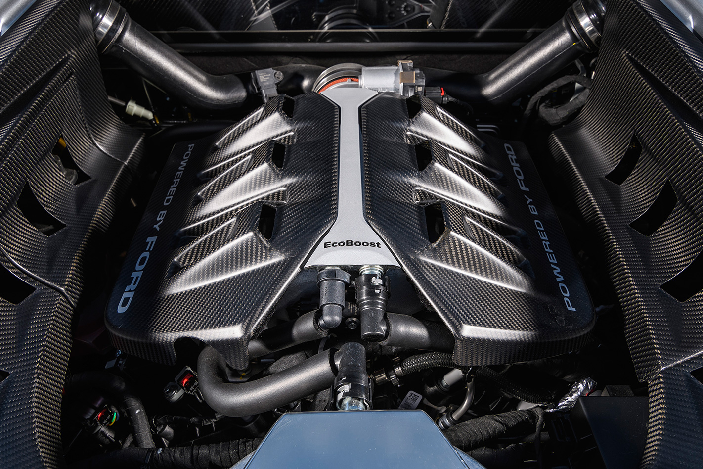 2017 Ford Mustang GT engine