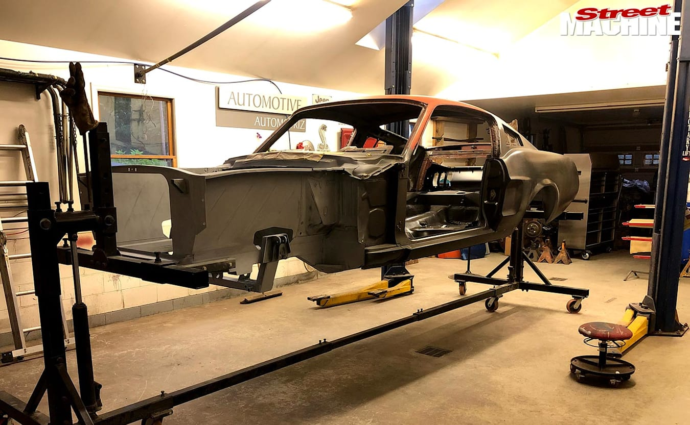 Ford Mustang build