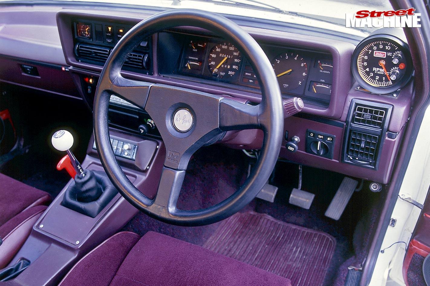 Holden VH Commodore dash