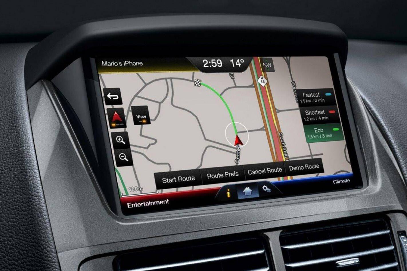 Ford Satellite Navigation