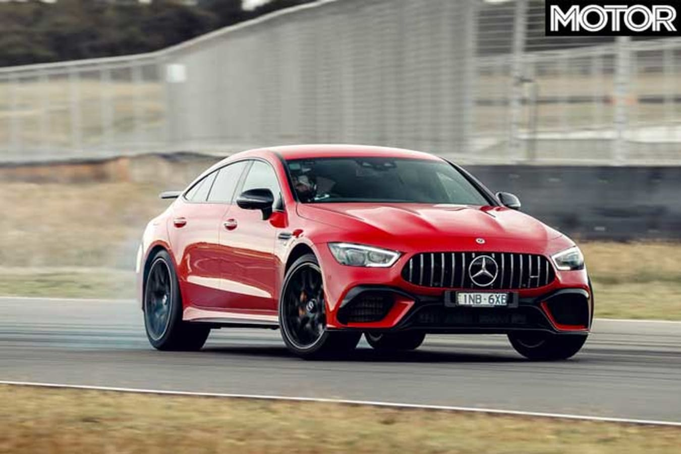 Performance Car Of The Year 2020 Track Test Mercedes AMG GT 63 S Track Jpg