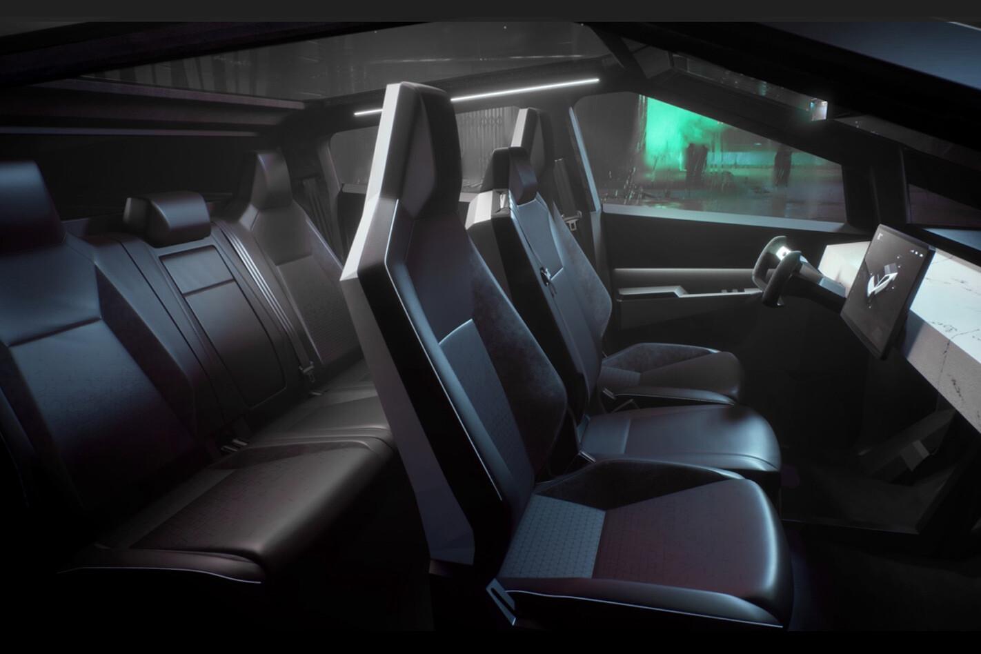 2022 Tesla Cybertruck pick up