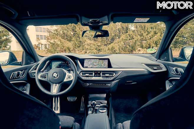 BMW M 135 I X Drive Interior Jpg