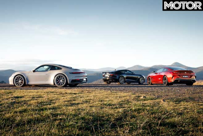 2019 BMW M 850 I Vs Porsche 911 Carrera 4 S Vs Jaguar F Type SVR Comparison Specifications Jpg