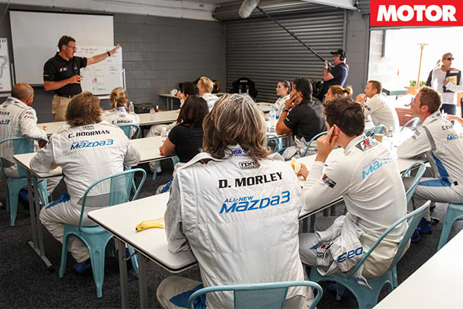 Mazda celebrity race 4