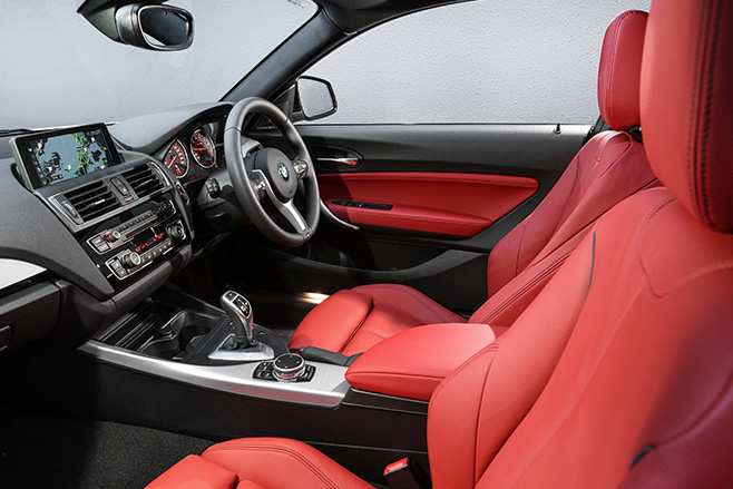 BMW-M240i -interior