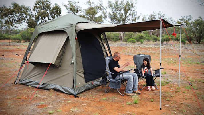 Product Test: OzTent Jet Tent F25
