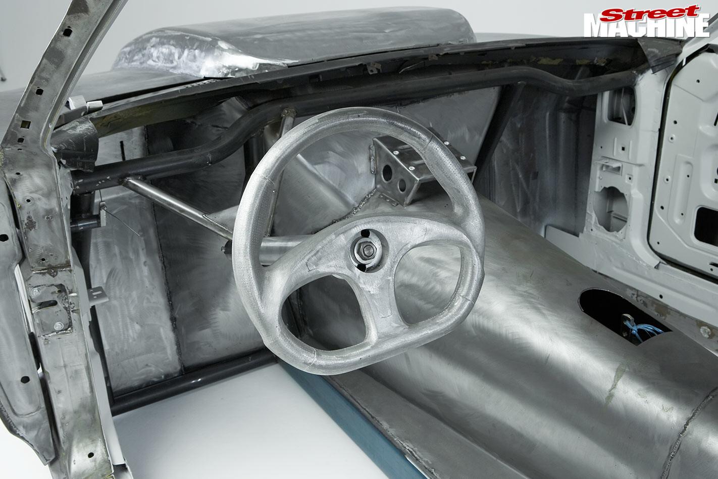 Ford Falcon XC steering wheel