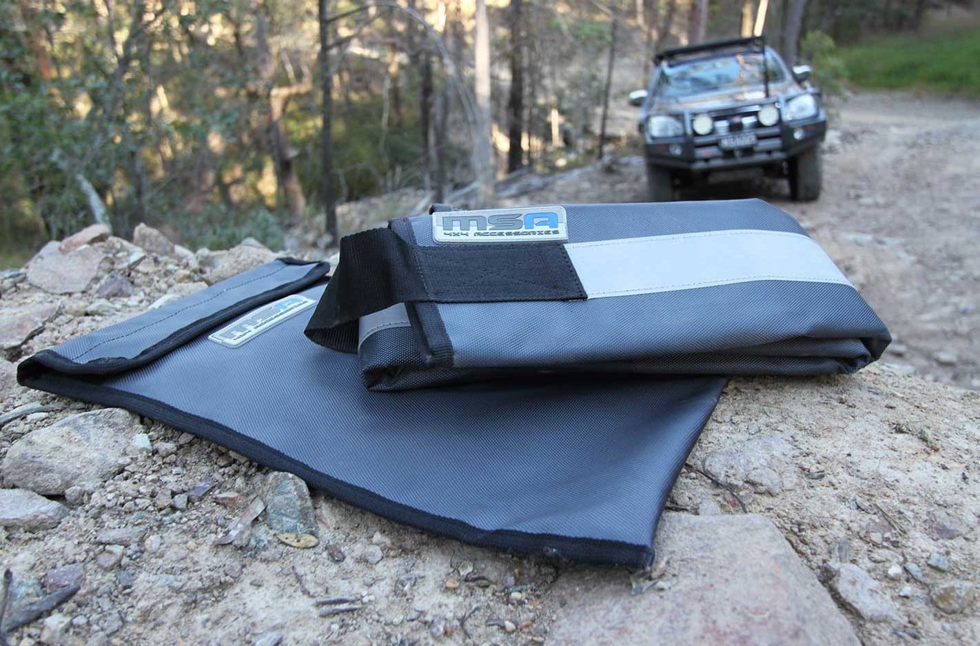 Tred recovery boards MSA 4x4 winch rope protector