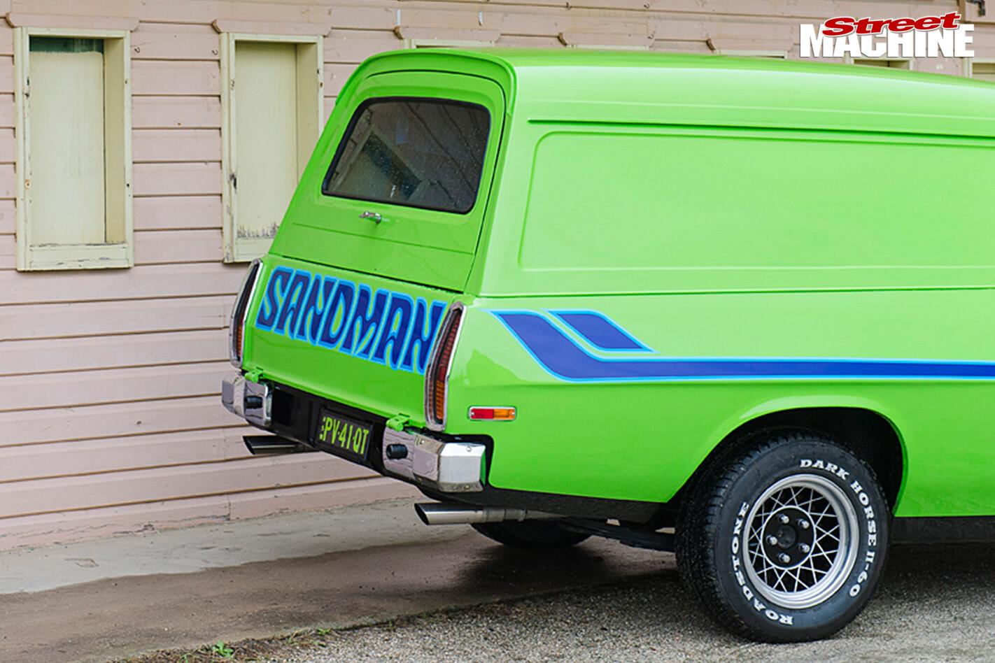 Holden -hz -sandman -rear