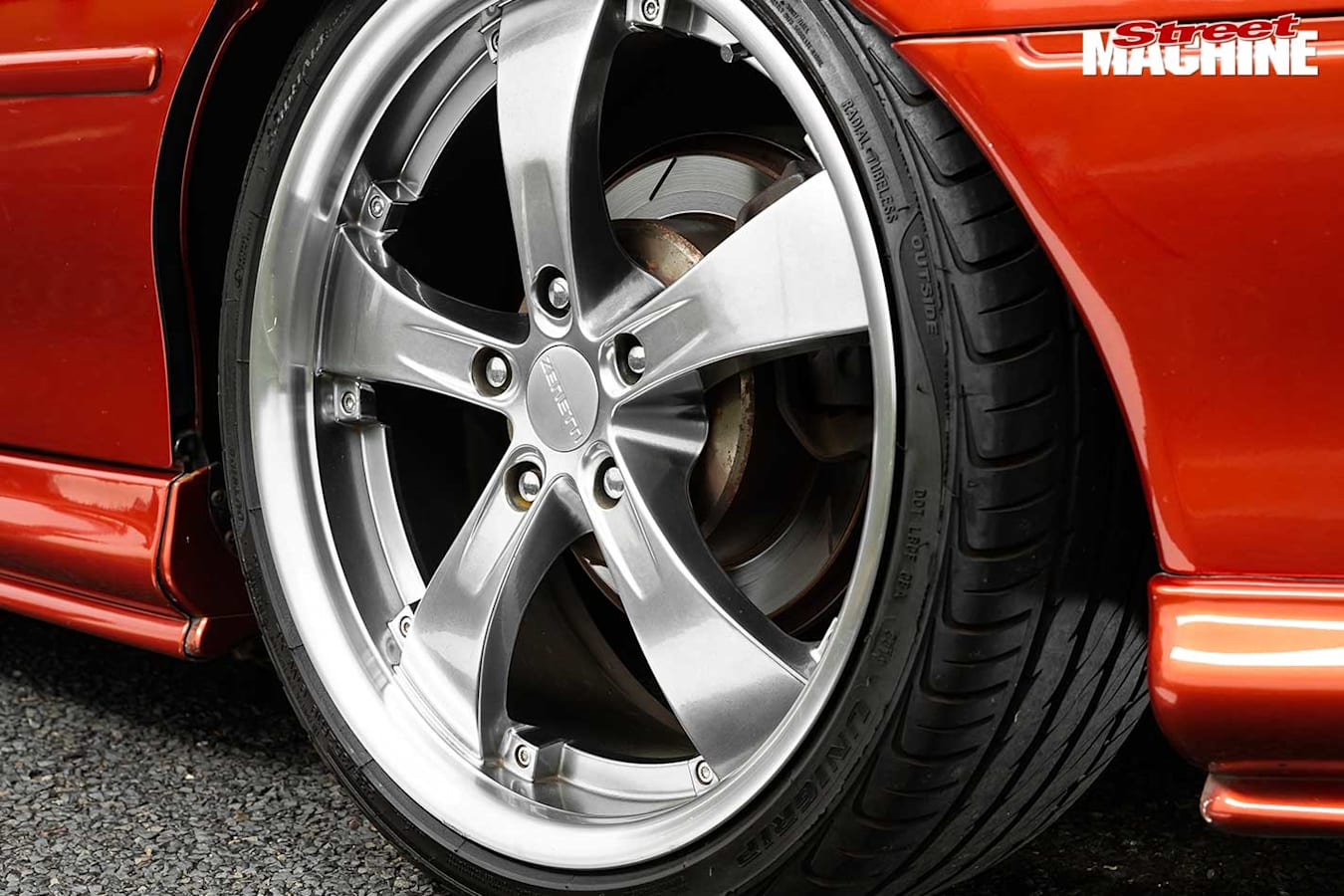 Holden VT Commodore wheel