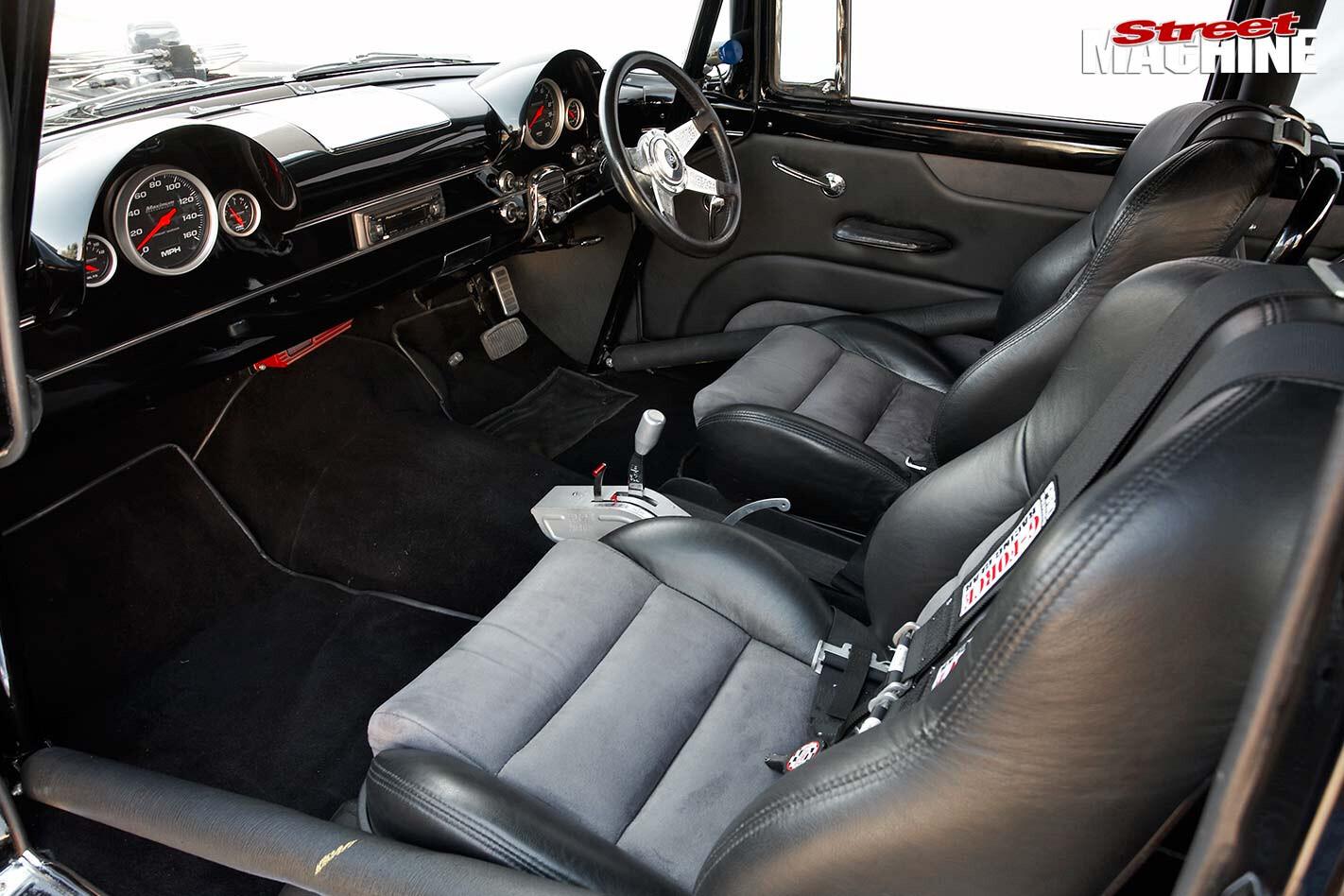 Ford Customline interior