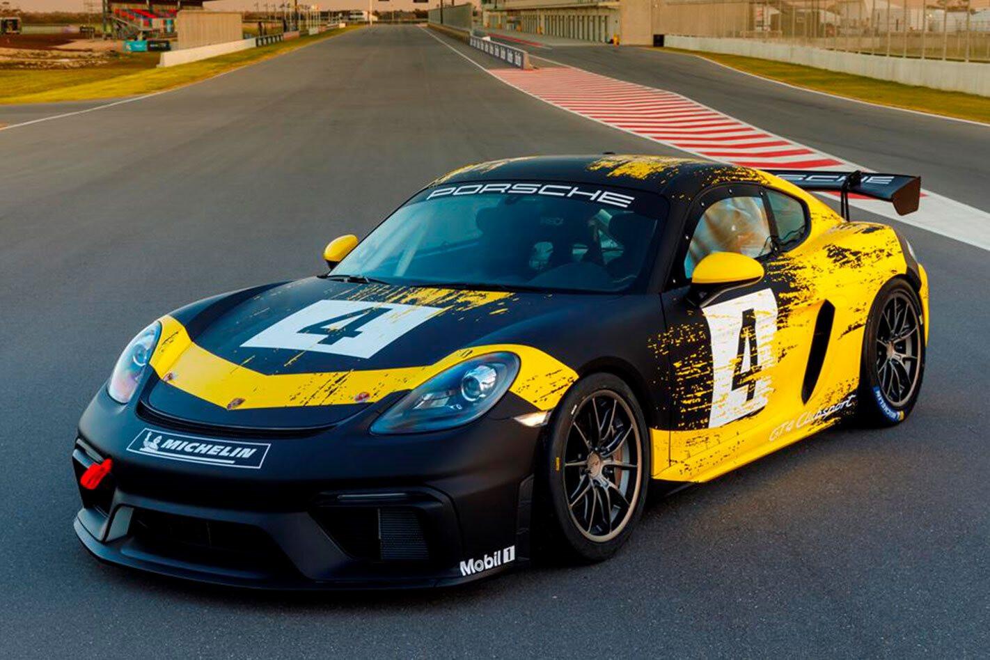 Porsche 718 Cayman GT 4 Clubsport Jpg