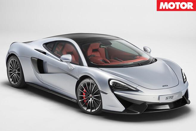 McLaren 570GT front