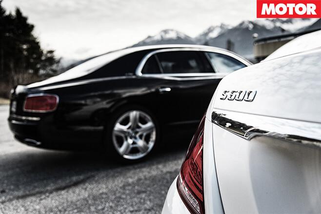 Mercedes v bentley